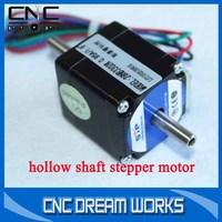 hollow shaft stepper motor 28HB3302K dual shaft stepper motor 2 phase 4 wire 28 stepper motor 3050203D