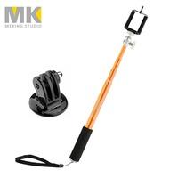 Selens 93cm/36.6in Handheld Selfie Stick Extendable Pole monopod tripod with Mount Adapter for GoPro Hero 1 2 3 3+ 4 SJ4000