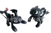 Free Shipping DHL200pcs/lot How to Train Your Dragon 2 PVC Action Figures Toy Doll Night Fury toothless dragon 2styles