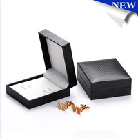 New Cufflinks Box jewelry box 10 pcs 1 lot