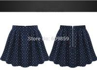 New Spring Summer 2015 High Waist Ball Gown Basic Skirts Female Womens Mini Skirt