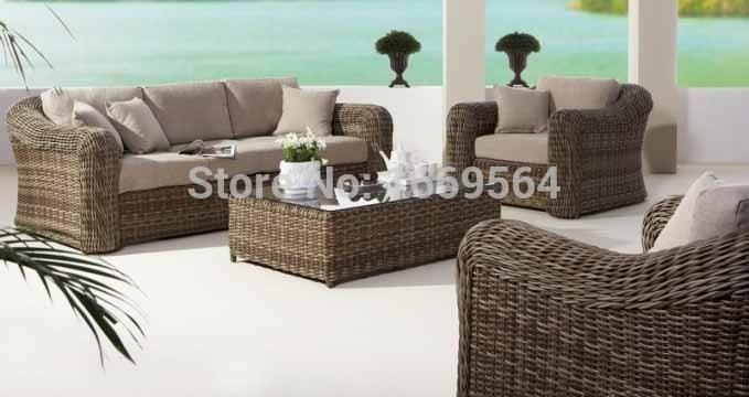 Achetez en gros mobilier d 39 ext rieur sofa sectionnel en ligne des gross - Canape en rotin pas cher ...