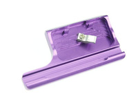 F10620 Waterproof Housing Lock Aluminum Snap Latch for Gopro Hero 3+ Camera Color Purple+ Freepost