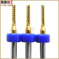 free shipping 10pcs/lot 2.4*12mm milling cutter cnc router bits CNC Equipment milling cutter,spiral cutter
