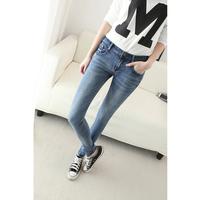 Dropshipping!2015 spring autumn Fashion jeans Slim pencil pants Lady Denim pant long trousers