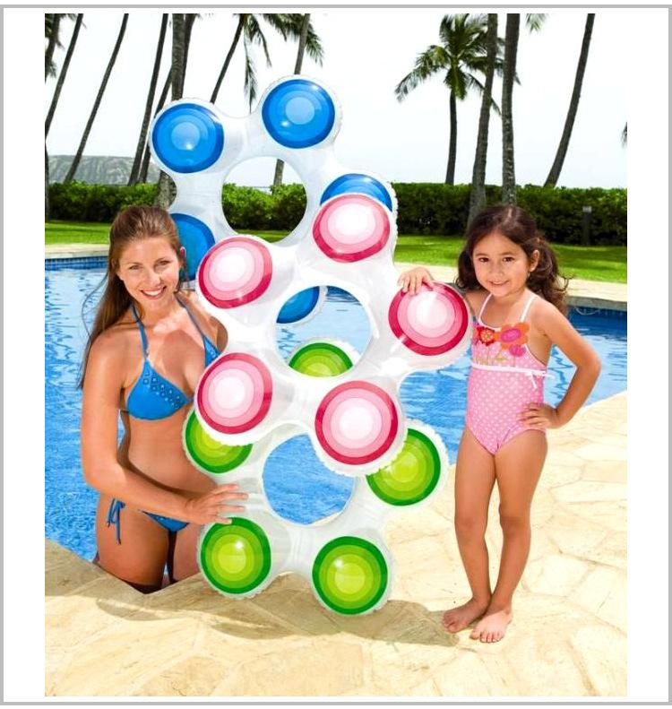 High quality Gradient, swim ring inflatable swim rings children's ring life buoy swimming equipment()