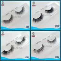 By UPS New 40pair Thick natural mink eyelashes false eye lashes Strip fake Eyelash thick Handmade Eyelash Mink Real Fur eye lash