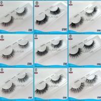 UPS Free shipping 1000pair/lot Factory Price 100% real mink eyelash Handmade siberian mink fur eyelash thick false mink lashes