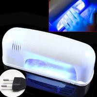 Beauty & Health LED Nail Art Gel Curing UV Lamp Polish Dryer Blower Manicure Tools 9W 220V EU Plug Nail Dryers art tool