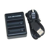 New High Quality AHDBT-401 AHDBT 401 AHDBT401 Battery Charger USB Dual Port Charger For Gopro Hero 4 AHDBT-401 Battery
