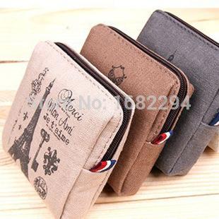 China's creative small change purse Memory nostalgic zero wallet restoring ancient ways in Paris Zero wallet(China (Mainland))