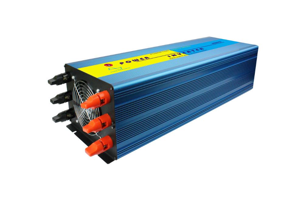 High efficiency Home inverter 4000W, DC48V to AC110V/220V 4000W Pure Sine Wave off grid Inverter , portable solar power inverter(China (Mainland))