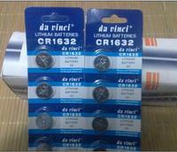 Lithium electronic 3V CR1632 3V CR1632 battery button battery