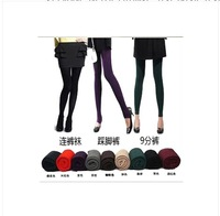 8 Colors 2015 Cotton High Quality Women Leggings Causal Knitted Thick Slim Leggings Super Elastic  Adventure Time