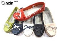 2015 New Women Genuine Leather shoes Moccasin-gommino zapatillas mujer ballet shoes Causal Hot Sale Free Shipping