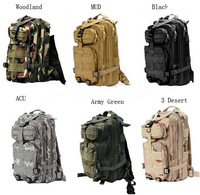 30L Outdoor Sport Military Tactical Backpack Molle Rucksacks Camping Trekking Bag 50pcs DHL Fedex Free shipping