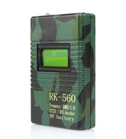 RK-560 Frequency Counter CTCSS/ DCS Decoder for Walkie Talkie 50MHZ-2400MHZ