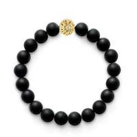 New Fashion Bracelet Rope Handmade High Quality Frosted Beads Bracelets for Women Men Jewelry Pulseiras Feminina Free Shipping