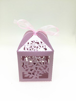 Laser Cut Candy Gift Boxes,Wedding Party Favor box,heart wedding box,party candy box