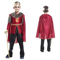 2015 NEW Christmas costume cosplay costume infant Arab prince children clothes clothing mask dance king child princess costume
