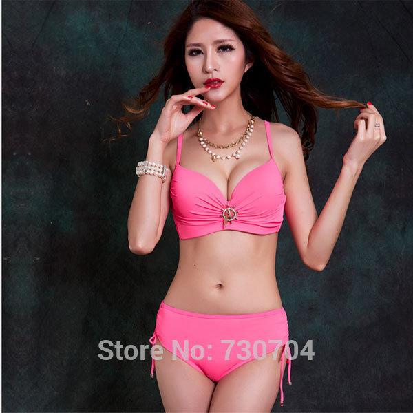 Brand Foclassy 2015 Sexy Swimwear Bikini Set Large Bust Swimsuits For Big Breasted Women Stylish Bathing Suits Moda Praia L-4XL(China (Mainland))