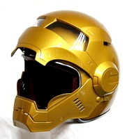 Masei Gold Atomic-Man 610 Open Face Motorcycle Helmet Free Shipping for Harley Davidson Free shipping