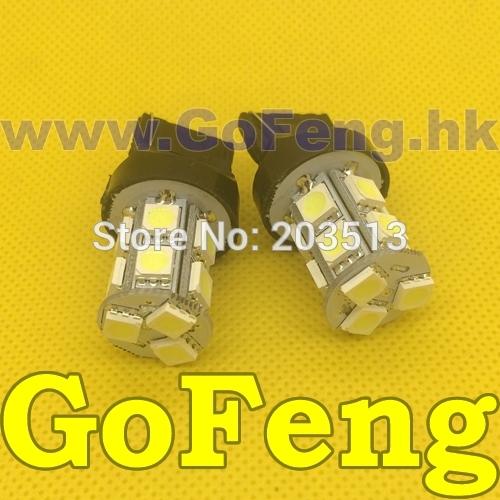 Задние поворотники GFG 100PCS/LOT T20 13SMD 7440 13 SMD 5050 3 360