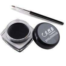 Newest Black Beauty Cosmetic Waterproof Eye Liner Eyeliner Shadow Gel Makeup Brush M01205