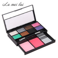 maquiagem makeup naked Eyeshadow palette 8 color eye shadow + 2 color blush authentic South Korean brand make up sets free ship