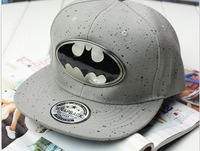Hip Hop Cap Baseball Cap Cartoon Batman Flat Brimmed Hats For Men Women Lovers Snapback Accessories