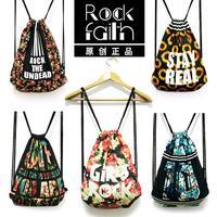 New Fashion Women Printing Backpack Floral Printed Canvas Vintage Original Animal Woman Bags Travel Duffel Bag Free shipping