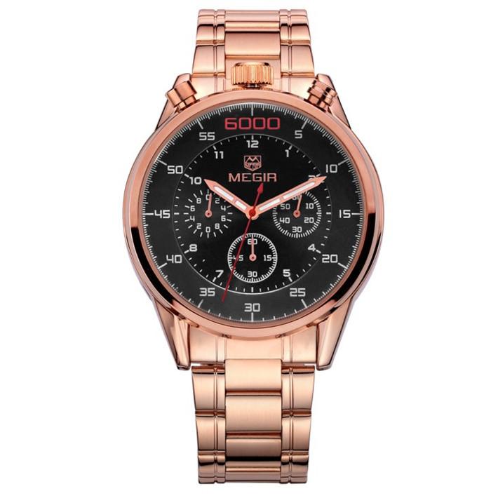 Rose Gold Watch Cheap 2015 Megir Rose Gold Watches