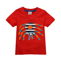 2015 New Design Clothes Boys Summer T-shirt Baby Short Sleeve t-shirts Kids Embroidery tshirts Children's Casual Clothing