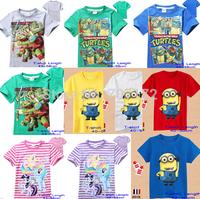 New Designer Superman Captain America Tee for Boys Kids Girls Tshirt Child Clothing Children Short Sleeve blouse shirts Cartoon