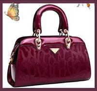 NO.1 New Brand Patent Genuine Leather Handbags Fashion Women Messenger Bags Plaid Women's Handbags Tassel Bolsas Femininas SJ07