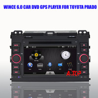 Support Steering Wheel Control Canbus Full Touch Screen Car Dvd Gps Wince Player For Prado 2008-2011 Phonebook Bluetooth DVR RDS