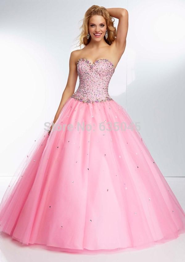 Babies Pink Dress Debutante Dress Baby Pink