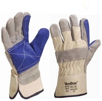1pair  New Hight Quality Patched Palm Welder Welding Hand Protective Gloves