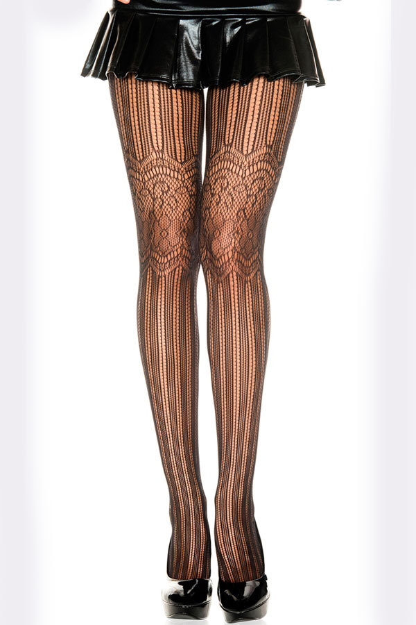 Net and Floral Lace Pantyhose Hosiery Tights Stockings Women Sexy Nylon Collant yl79520 Free Shipping(China (Mainland))