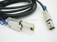 4X SFF 8088 External Mini SAS to Mini SAS High Density HD SFF 8644 Data Cable 2M
