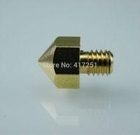 1 piece Ultimaker Copper Printer Nozzle For 1.75 mm Filament 0.5mm drill 3d Printer Hot End Nozzle