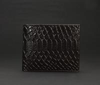 100% Genuine Leather Man Short  Wallets High Quality Alligator Men's Leather Wallet Business Wallets For Men zjm-0020
