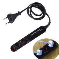 NI5L High Quality 1PC Multi-use 3-USB Output Ports Travel Wall Hub Power Socket Charger