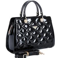 NO.1 2015 New Women's Handbags Designer Lady's Bag Plaid Brand Genuine Leather Handbags Tassel OL Women Leather Bags Clutch Tote