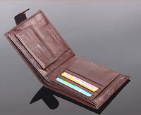 men purses genuine leather purse for men brand designer leather coin purse card holders package bifold bag removable flip wallet
