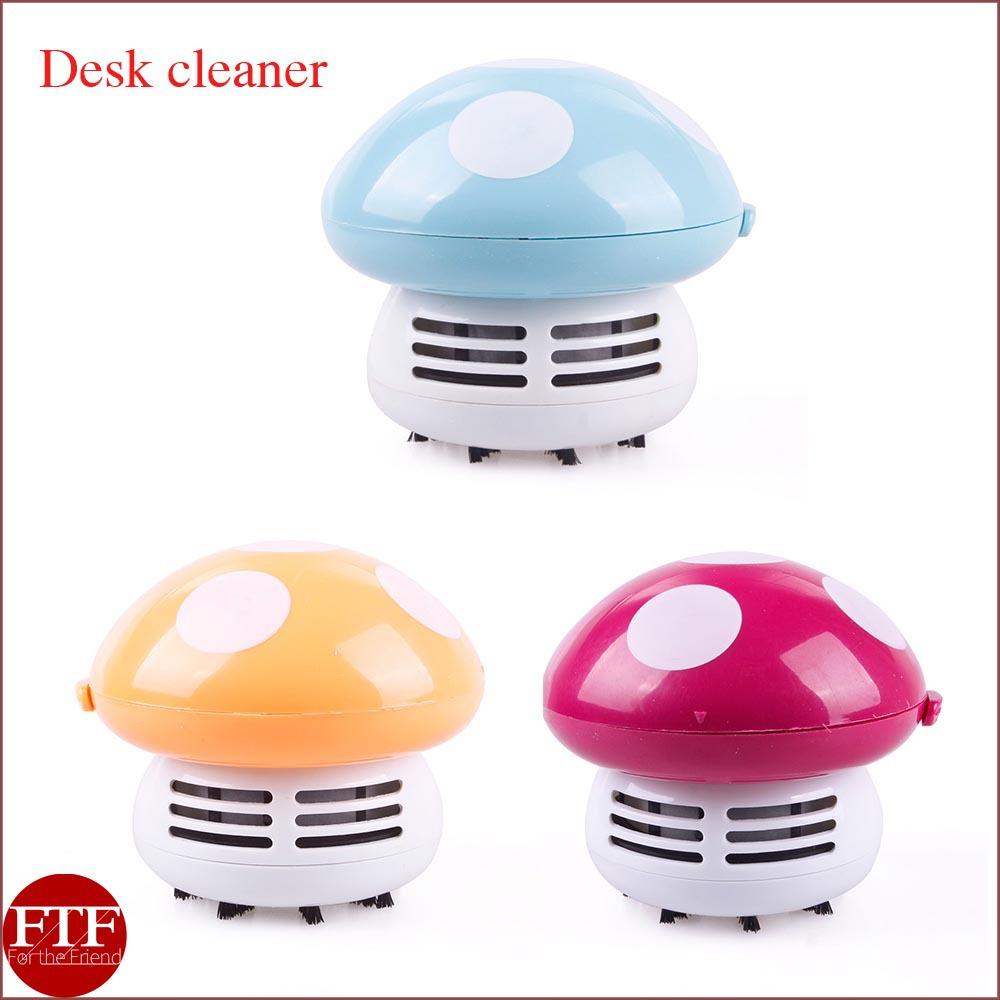 Mini Cute Mushroom Keyboard PC Desk Desktop Laptop Dust Collector Vacuum Cleaner(China (Mainland))