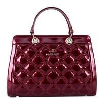 NO.1 New Patent Genuine Leather Handbags Brand Tassel Women Leather Bags Plaid Femininas Bolsas Fashion Women Messenger Bags HOT