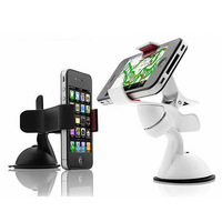 Universal Cell Mobile Phone PDA GPS MP4 In Car Windscreen Suction Mount Holder Cradle Stand Bracket 360 Degree