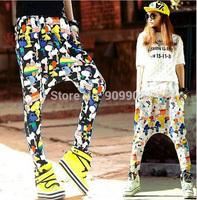 2015 New Arrival Women's Casual Hip-Hop Low Crotch Harem Baggy Pants Sweatpants Dance Trousers