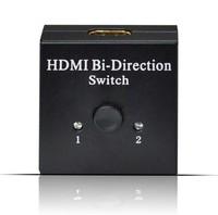2015 3D 1080P HDMI 2x1 HDMI Switch HDMI 2 Ports Bi-direction manual switch / AB switcher Free Shipping